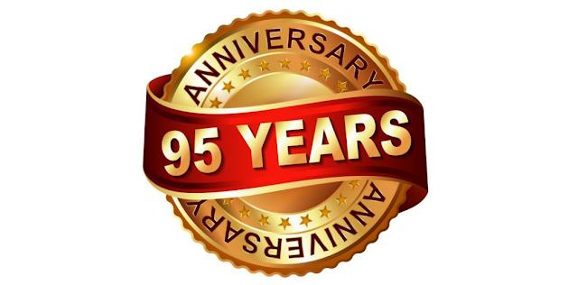 Boldog 95. születésnapot Gyülekezet - Happy 95. Birthday Congregation