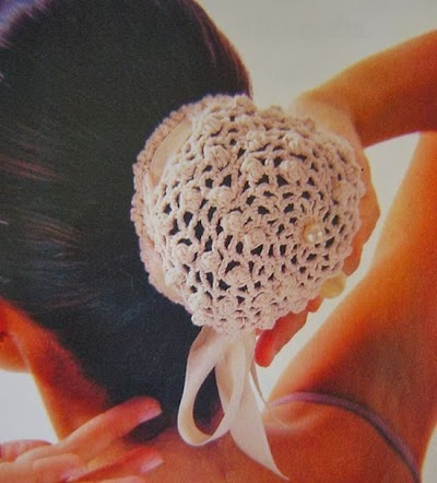 Sujeta-Cabello de Crochet Patron
