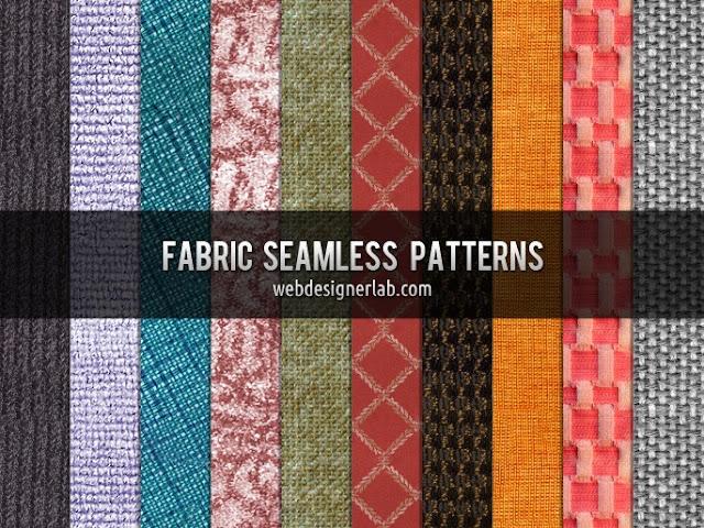 Fabric Seamless Patterns, photoshop patterns
