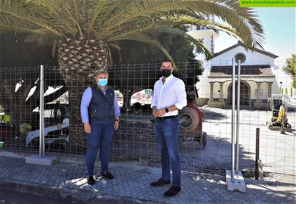 El Ayuntamiento Los Llanos de Aridane pone en marcha las obras de remodelación de la plaza de Todoque
