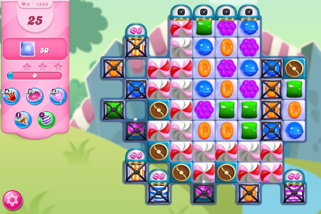 Candy Crush Saga level 7855
