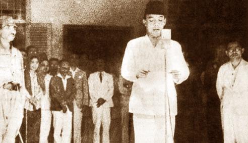 Foto Proklamasi kemerdekaan Indonesia