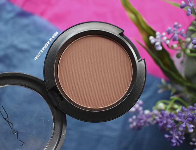 Powder Blush - tono Swiss Chocolate de MAC