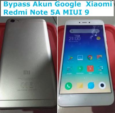 Cara, Bypass, Akun, Google, Xiaomi, Redmi, Note, 5A, MIUI 9, Tanpa PC, hapus, frp, google account,