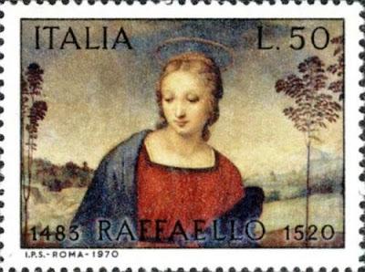 Raffaello - Madonna del cardellino Painting