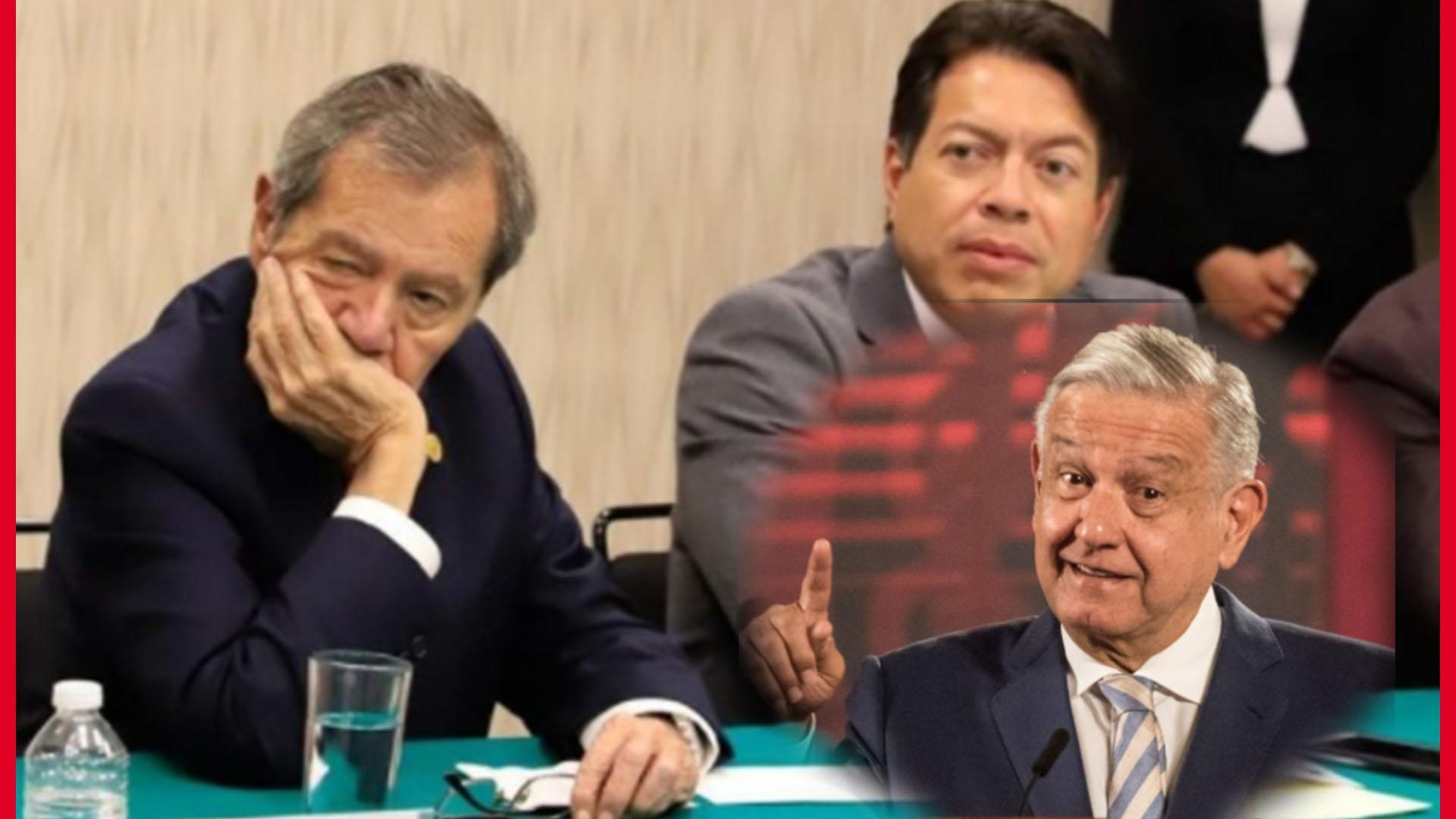 """""""Que el pueblo decida la DIRIGENCIA de MORENA"""", reitera AMLO"""