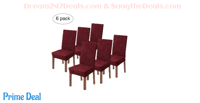 Wilike Dining Chair Covers Stretch Chair Protector 60%OFF
