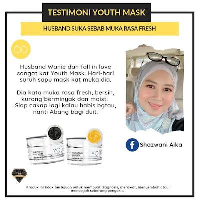 Testimoni Youth Mask Shaklee