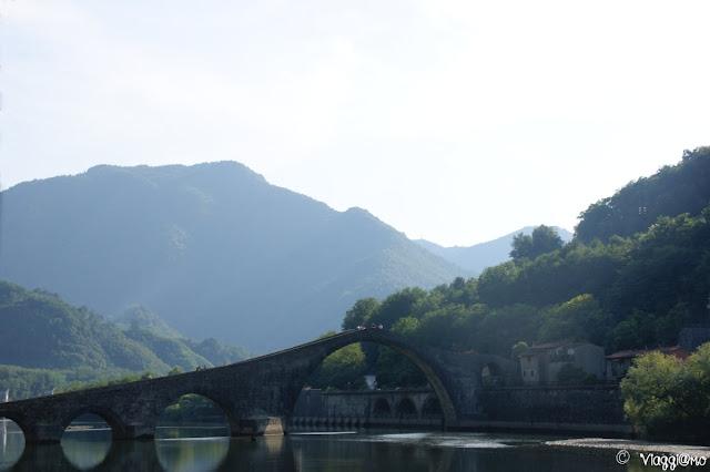Il famoso Ponte del Diavolo di Borgo a Mozzano