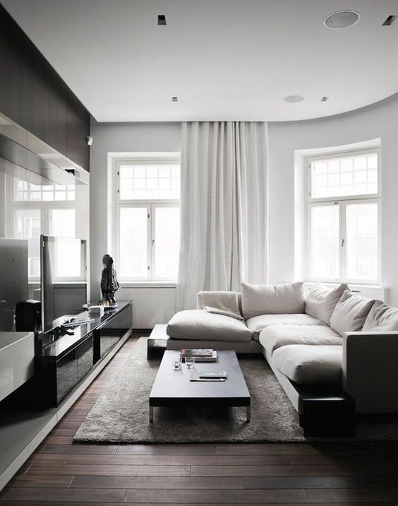 Timeless Minimalist Living Room Design Idea