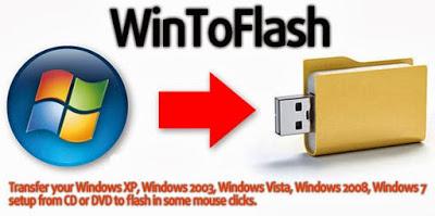 تحميل برنامج  WinToFlash Lite لعمل الويندوز بوت على الفلاشة