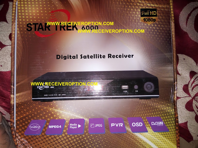 STAR TREK 6000 HD RECEIVER TEN SPORTS OK NEW SOFTWARE