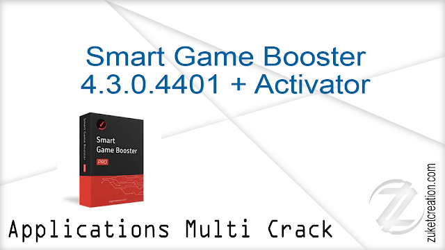 Smart Game Booster 4.3.0.4401 + Activator