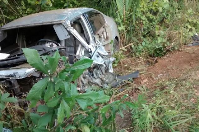 Acidentes em rodovias deixam quatro mortos