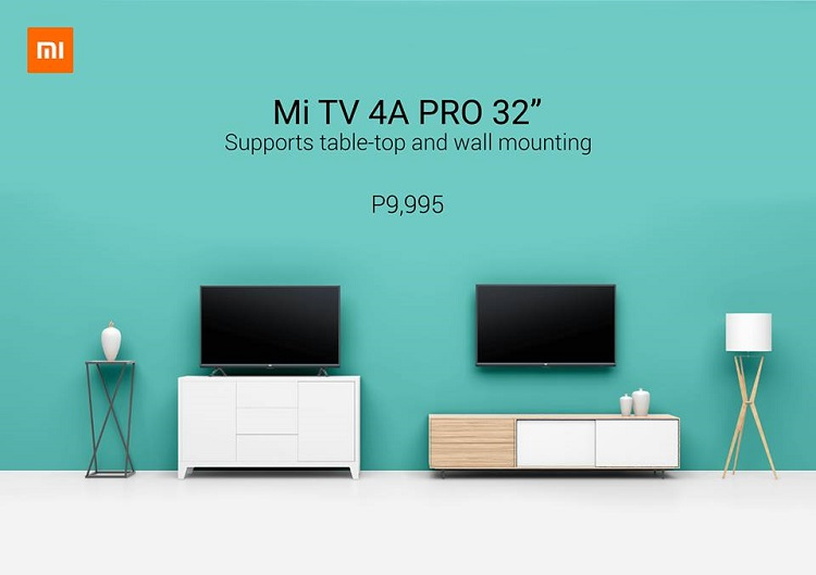 Xiaomi Mi TV 4A Pro Now Available in PH
