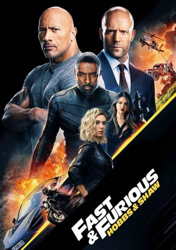 Fast & Furious: Hobbs & Shaw 2019 Dual Audio Hindi 480p 720p HDCAM