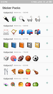 Stickers for Whatsapp Objects Ads free mod
