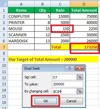 What is Goel Seek in Excel and its Advantages?