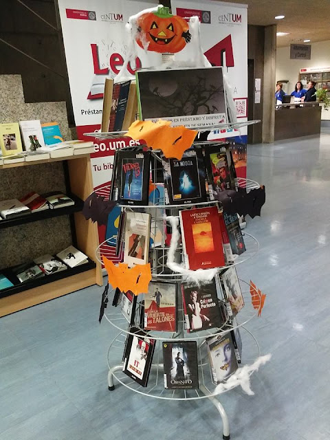 """Semana del terror"" en la Biblioteca Universitaria."