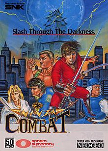 Ninja Combat (ROM / Arcade / FightCade)