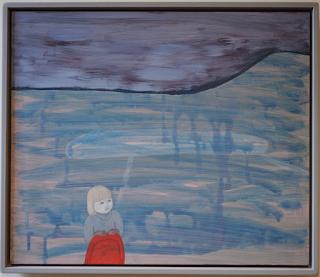 Petra Borén, f. 1963. När allt förändrar sig, 2006, Maleri, akryl. Statens konstrad SK0711-029 per Teresa Grau Ros