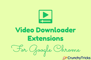 Whenever we watch some video online on a website and if we want to watch that video later  Top 8 Video Downloader Extensions for Google Chrome