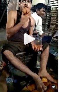 ಬೇಕರಿಯಲ್ಲಿ ಕೆಲಸ ಮಾಡುವವರು  ತಿನ್ನುವ ಆಹಾರವನ್ನು ಈ ರೀತಿ ಪ್ಯಾಕ್ ಮಾಡ್ತಾರ- ಕಾರ್ಮಿಕ ಟೋಸ್ಟ್ ನೆಕ್ಕುವ ವಿಡಿಯೋ ಹಾಕಿ ಬಂಧಿಸಲು ಆಗ್ರಹಿಸಿದ ನಟಿ (VIDEO)