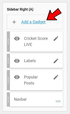 Blogger-add-widget