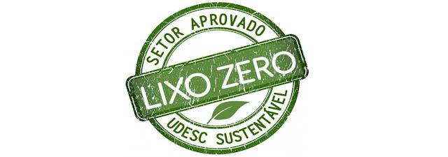 Selo Setor Lixo Zero da Udesc