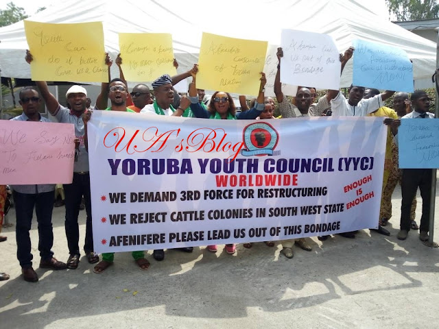 Fulani Ruga settlement: What we'll do to South West governors – Yoruba youths blow hot