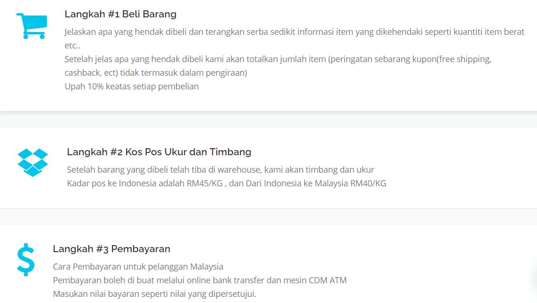 tolong beli barang malaysia indonesia