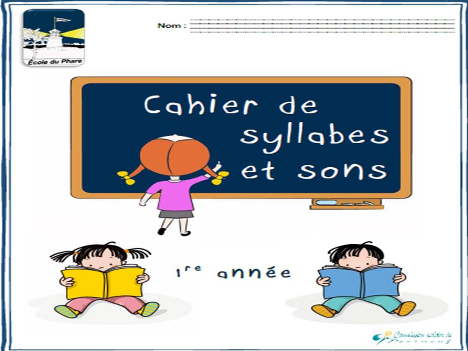 cahier syllabes et sons