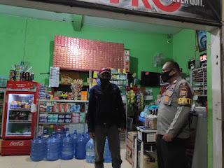 Antisipasi Tindak Pidana dan Laka Lantas, Personel Polsek Alla intensifkan Patroli malam hari