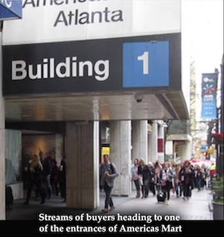 AmericasMart, the venue of the Atlanta International Gift & Home Furnishing Market trade show, has more than 1,400 permanent showrooms and the January 2019 ...
