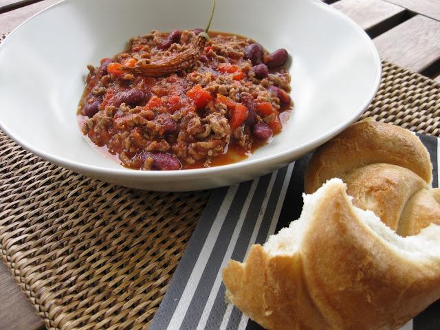 Chili con carne Rezept auf dem Südtiroler Food- und Lifestyleblog kebo homing