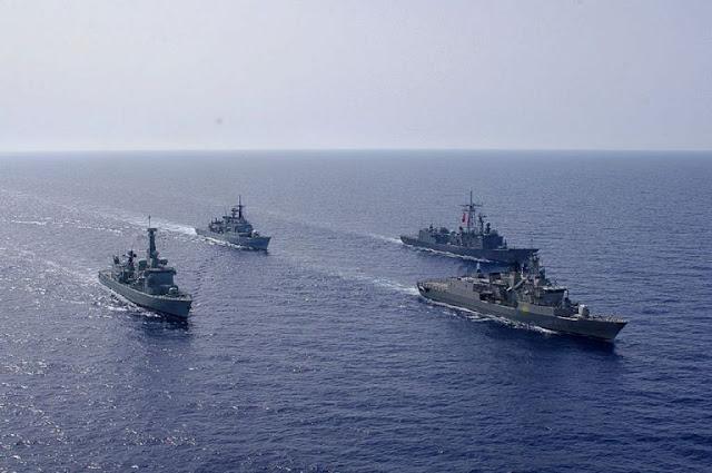 Οκτώ στόλοι σε απόσταση βολής από το Oruc Reis