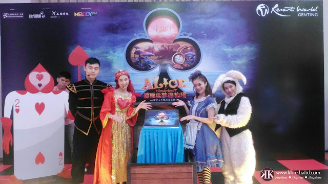 Alice In Wonderland,i Resorts World Genting,