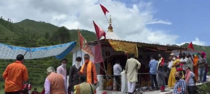 सीता माता की समाधि स्थली में 108 दिए जलाकर किया गया राम मंदिर निर्माण का भव्य स्वागत