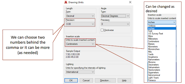 How to Setting Units in AutoCAD
