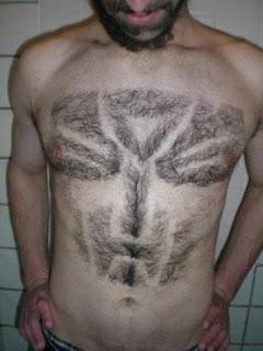 Las peores depilaciones masculinas - Transformer
