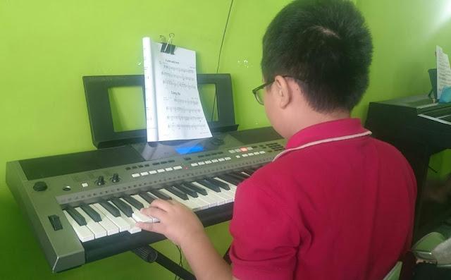 Lớp học đàn organ cho trẻ em tại quận Bình Thạnh TP HCM