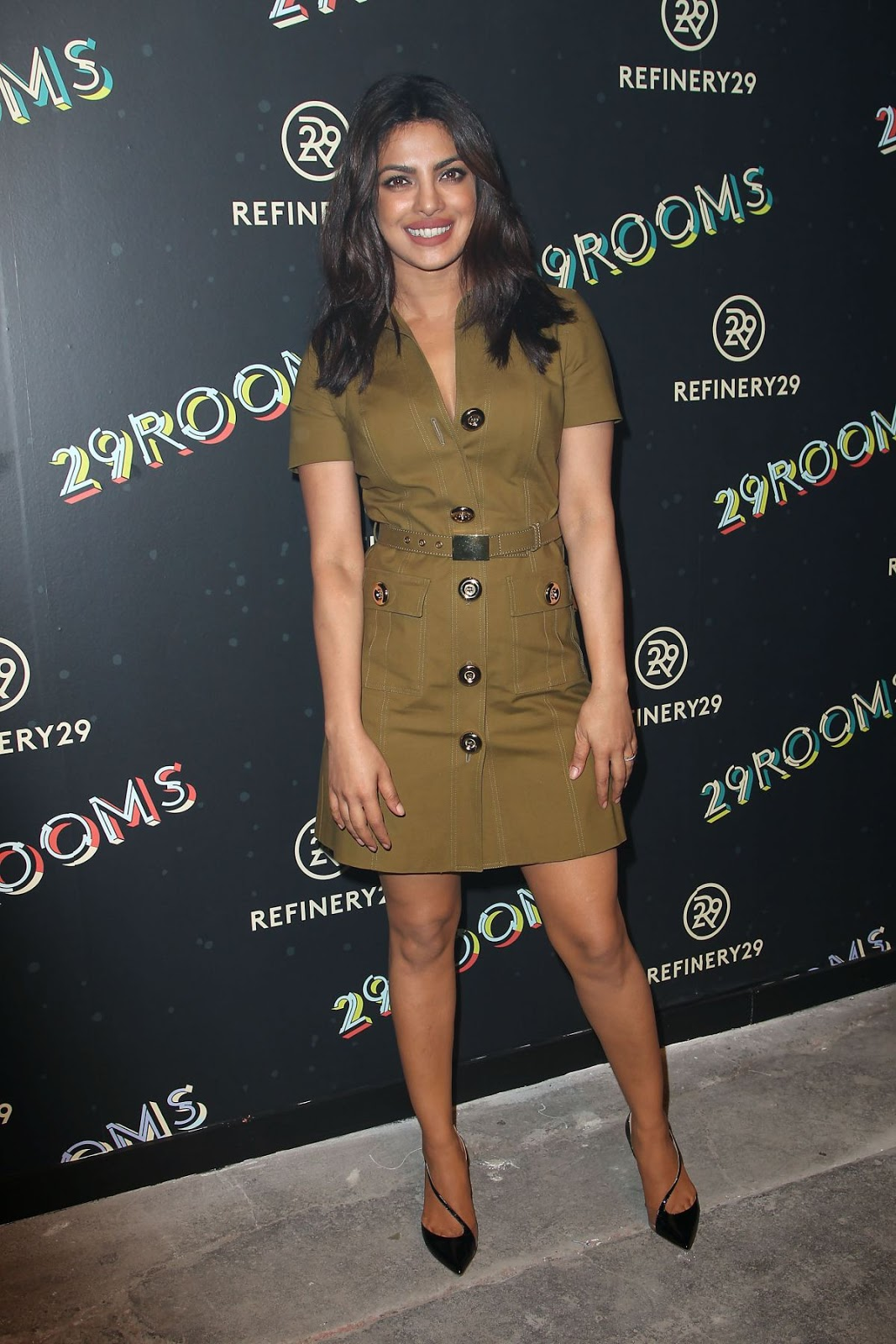 HQ Photos of Priyanka Chopra At 29 Rooms Refinery29's Second Annual New York Fashion Week Event In New York