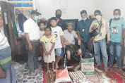 Kabaharkam Polri Kembalikan Senyum Pria Asal Aceh yang Kedua Kakinya di Amputasi