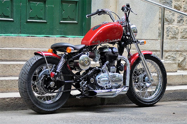 Bulleteer Customs red baron Modified Bullet RE