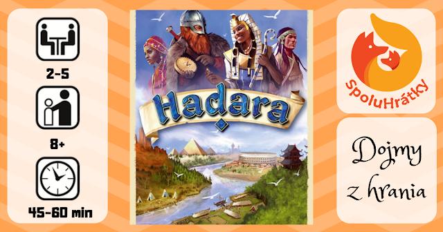 recenzia hry Hadara na blogu www.spoluhratky.eu