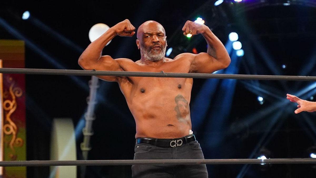Mike Tyson se une a Chris Jericho no AEW Dynamite