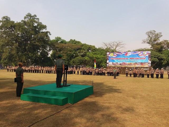 Tour Kebangsaan FKPPI Jabar, Pangdam III/Slw Minta Tetap Menciptakan dan Menjaga Situasi Kondusif.