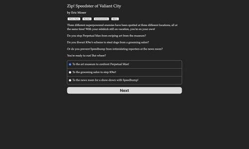 Zip! Speedster of Valiant City Game Free Download