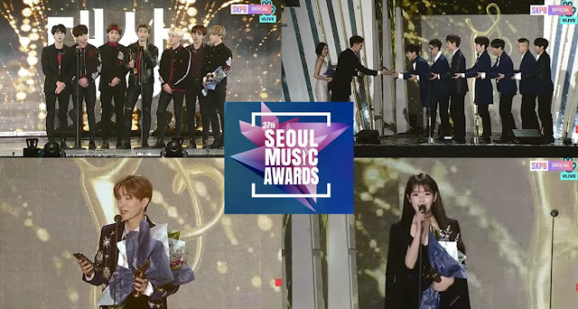 Los Ganadores de '27th Seoul Music Awards'