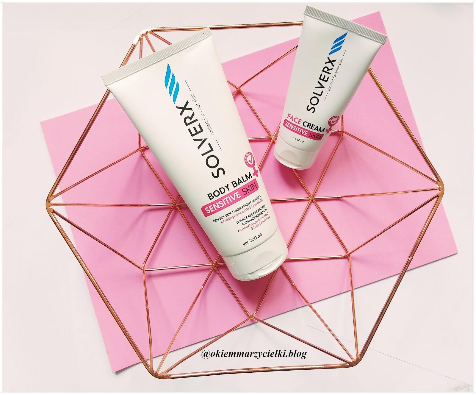 Balsam do ciała & Krem do twarzy do skóry wrażliwej, naczyniowej, Solverx Sensitive Skin Woman- recenzja #99